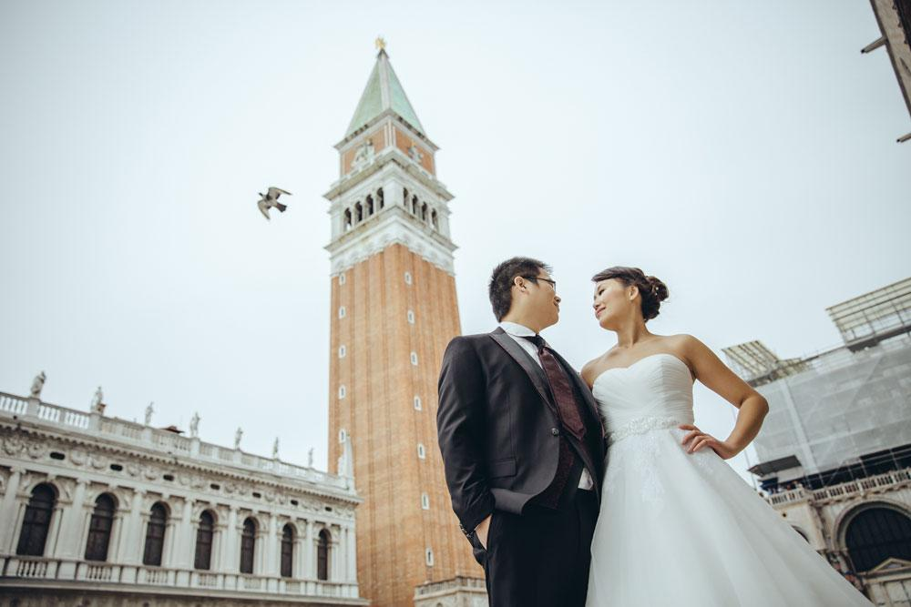 威尼斯 couple in Venice