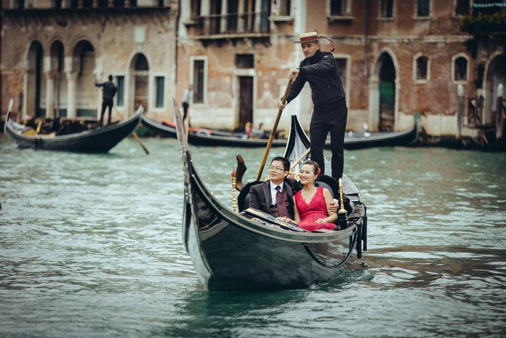 Venice pre-wedding photography package
