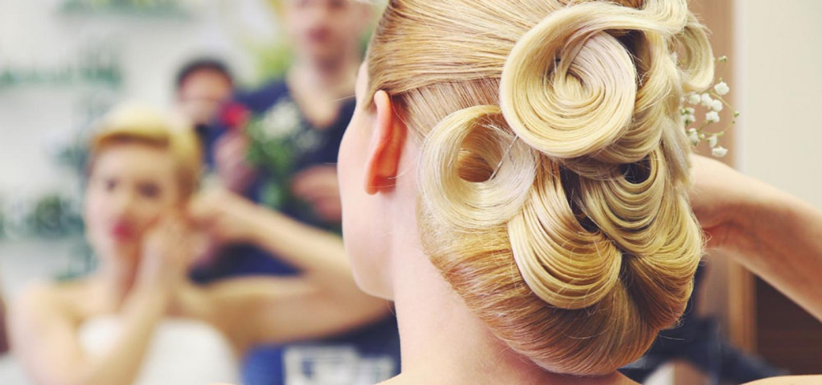 Luxury Bride - Blonde bride with luxury hairstyle