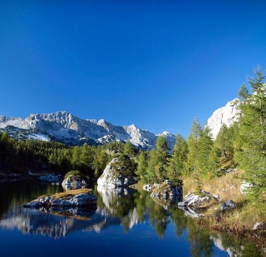 Slovenia - Lake in Triglav National Park